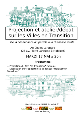 Affiche de la projection de